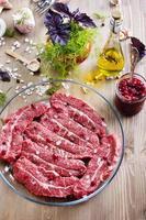 Marmorrindfleisch foto