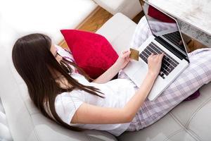 Online-Kauf mit der Kreditkarte