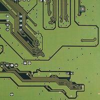 die Details Motherboard als Hintergrund foto