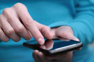 Arbeiten mit Smartphone