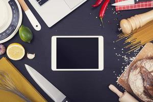 Küchentablett PC-Modell foto