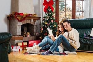 Weihnachten ist für die Liebe foto