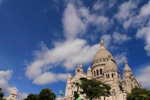 basilique du sacré coeur à paris, frankreich