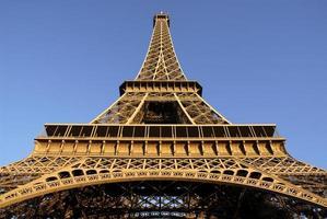Eiffelturm von Paris foto