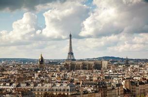 Luftaufnahme von Paris foto