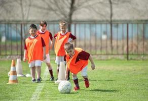 Fußballzug foto