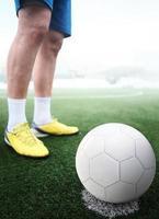 Fußballspieler foto