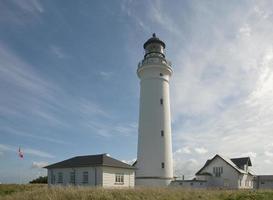 dänischer Leuchtturm foto