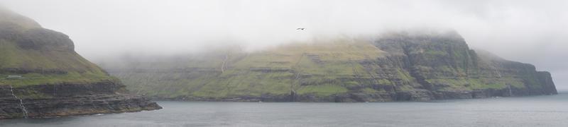 Panorama von Streymoy foto