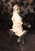 Vintage Porträt