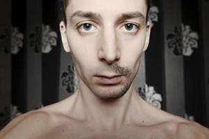 Mann Porträt foto