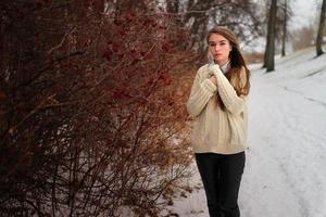 Porträt im Freien foto