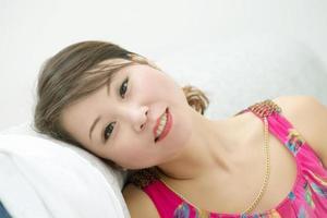 Porträtfrau foto