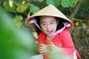 Bauernkindporträt foto