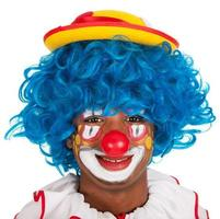 Porträt lustiger Clown foto