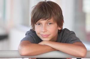 Jungenporträt foto