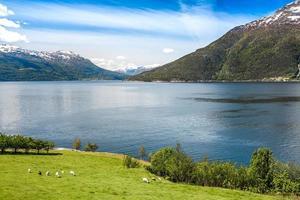 schöne natur norwegen. foto