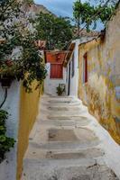 Ansicht von Oia, Santorini - Archivbild foto
