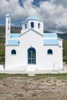 typische griechische Kirche foto