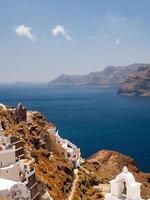 Santorini Ansicht foto