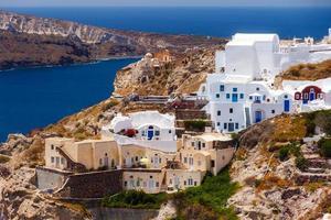 Oia Dorf in Santorini, Griechenland