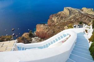Schritte zum Strand, Griechenland