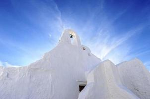 Kirche von Panayia Paraportiani, Mykonos, Griechenland foto