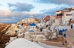 Oai Santorini Ansicht foto