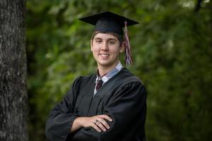 Absolventenporträt foto