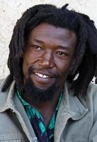 Rastafari-Porträt foto