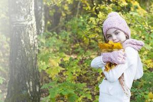 Herbstporträt foto