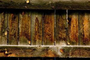 rustikaler verwitterter Holzhintergrund foto