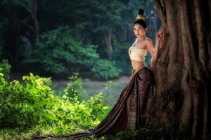 asiatische Frau foto