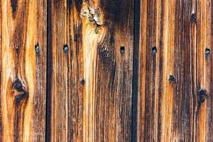 Hintergrund der alten Holzbretteroberfläche foto