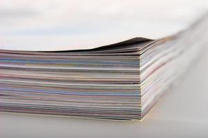 Zeitschriften aus nächster Nähe foto