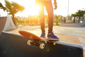 Skateboarding foto