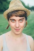 Porträt junge Frau