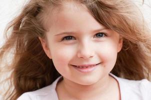 kleines Mädchen Porträt foto