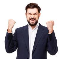 selbstbewusstes Geschäftsmannporträt foto