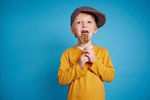 Süßigkeiten genießen