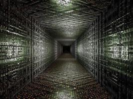 virtueller technologischer Hintergrund