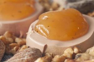 Pastete mit Marmelade foto