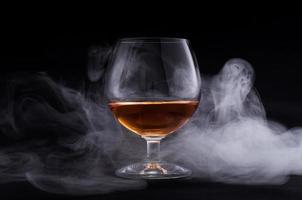 Cognac in Glas foto