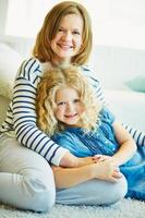 Mutter und Tochter foto