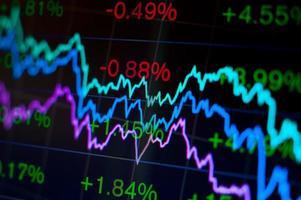 abstrakter finanzieller Hintergrund foto