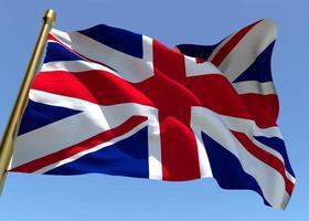 England Flagge foto