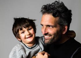 Vater und Sohn foto