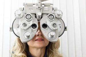 Augenuntersuchung foto