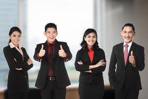 asiatisches Business-Team foto