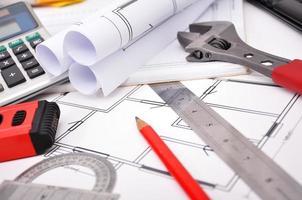Wohnungsbauplan foto
